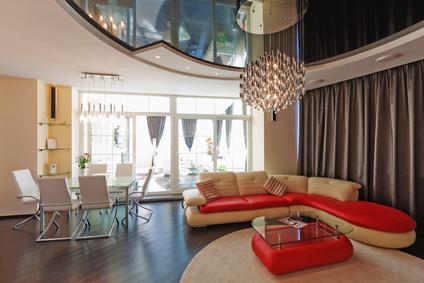 Spanndecken lackspanndecken lichtdecken in region hannover - Deckendesign wohnzimmer ...